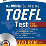 2017年8月4日にThe Official Guide to the TOEFL Testの第5版が発売